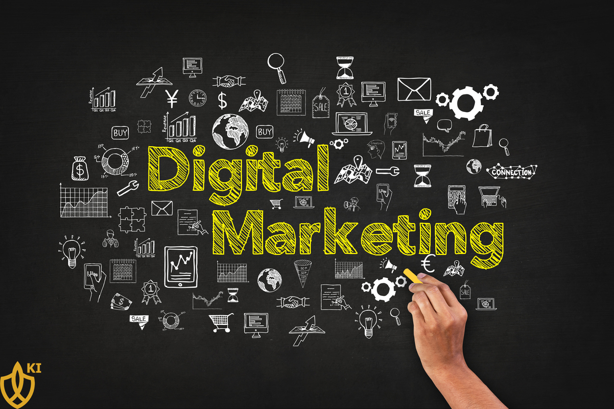 بازاریابی دیجیتال - Digital Marketing کیان اینوستینگ